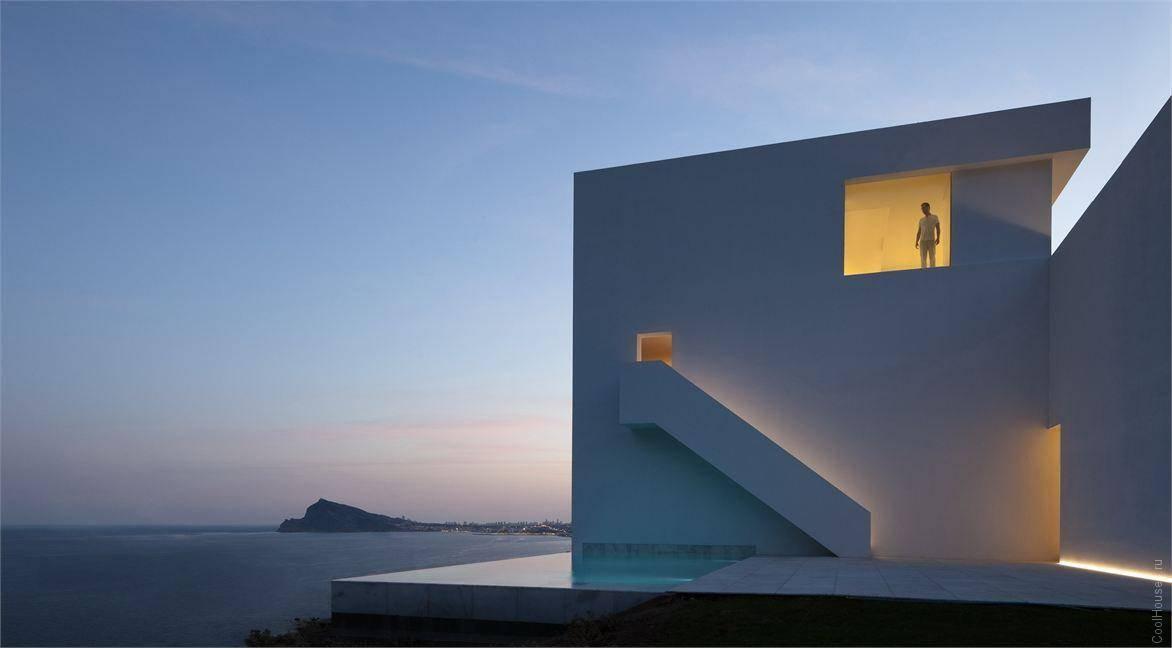 Архитектура города кальпе испания