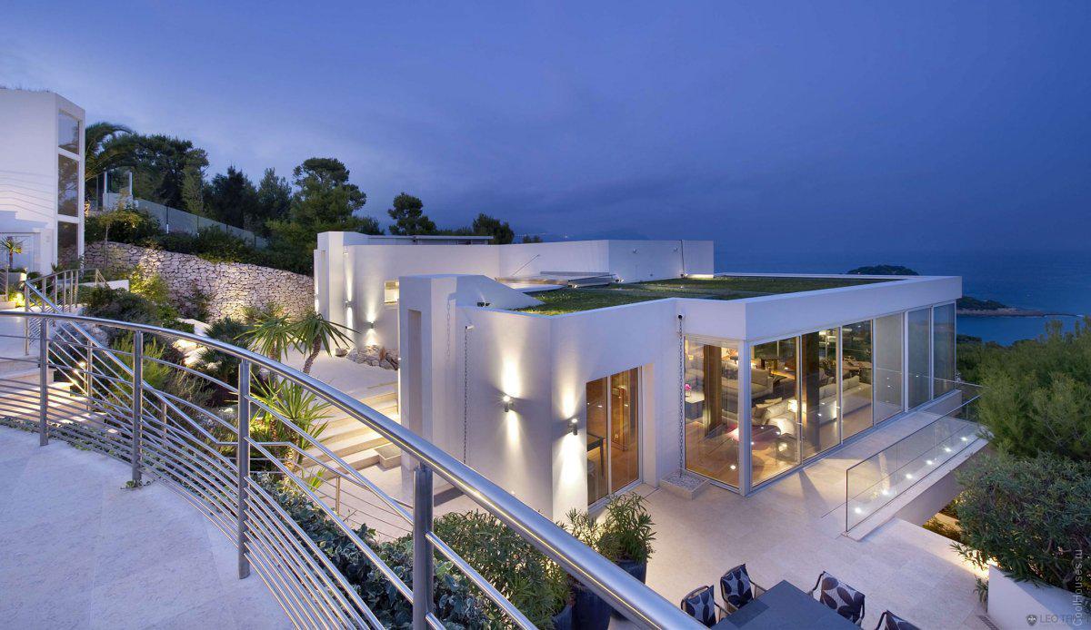 Красивые виллы во франции черногория недорогие апартаменты