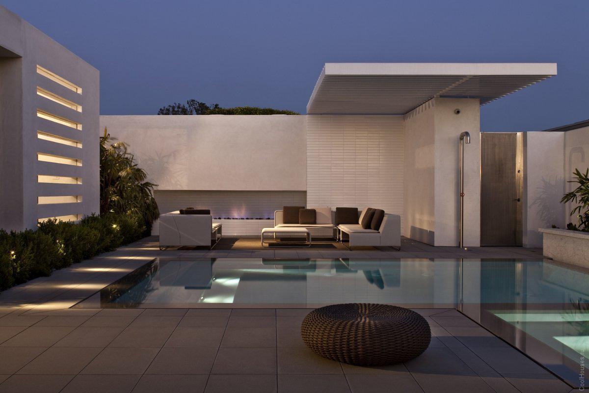 это фото домов с дизайнером минимализма днём