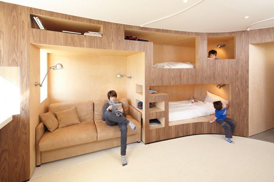 Дизайн однокомнатной квартиры. 50 различных вариантов ...